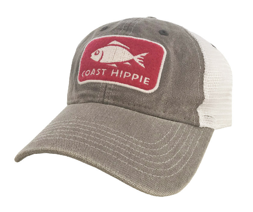 Fish Label Hat - Relaxed