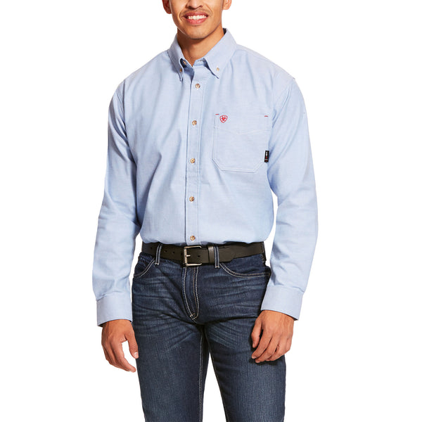 ARIAT® FR Solid Twill DuraStretch Work Shirt 10027886