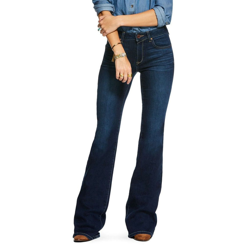 Ariat® Ladies Ultra Stretch Perfect Rise Katie Flare Jeans 10027692