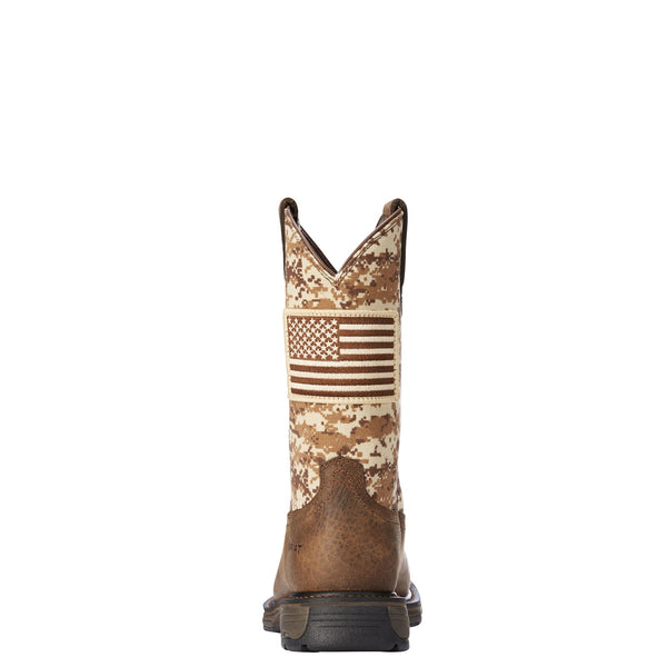 WorkHog Patriot Work Boot