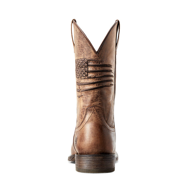 Ariat® Men's Circuit Patriot Weathered Tan Boots 10029699
