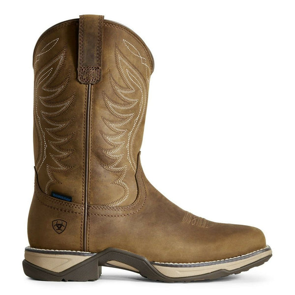 Ariat® Ladies Distressed Brown Waterproof Anthem Boots 10029528