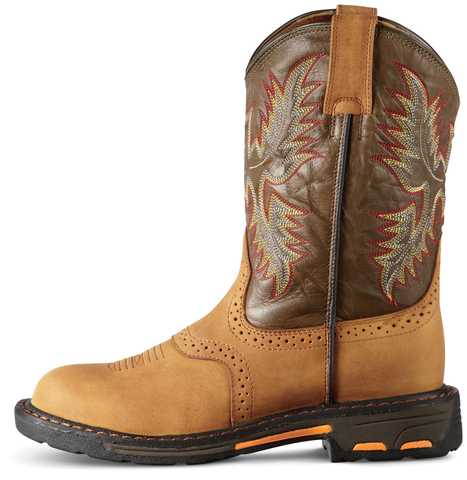 Brown WorkHog Boot | Harrison's Footwear