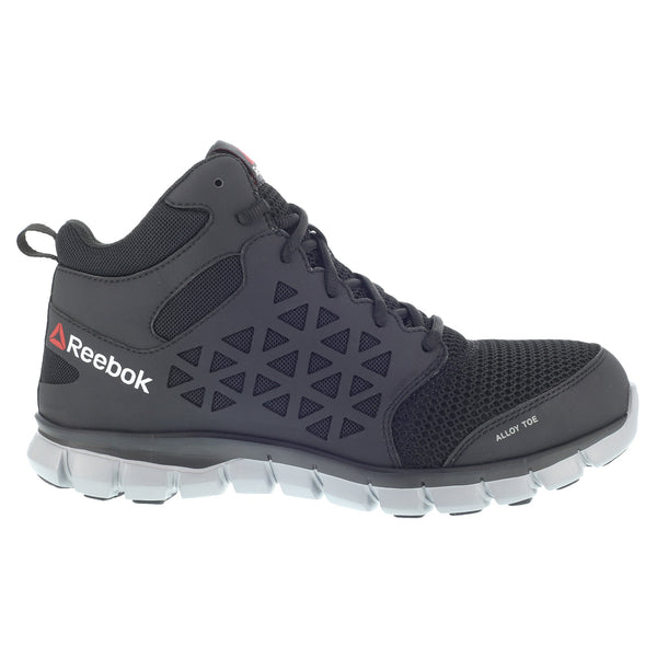 Outside - Reebok <b>Sublite Cushion Work</b> Athletic Mid Cut | Harrison's Footwear