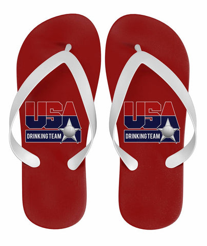USA Drinking Team Flops Red