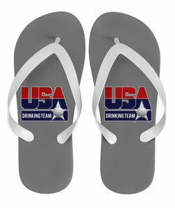USA Drinking Team Flops Grey