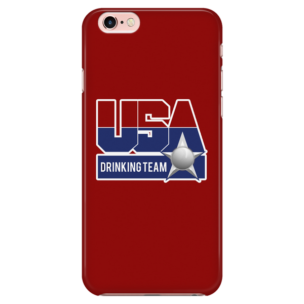 USA Drinking Team Red Phone Case
