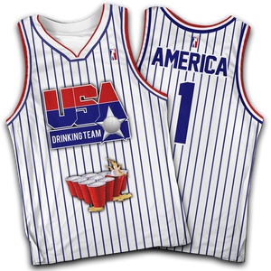 USA Drinking Team White