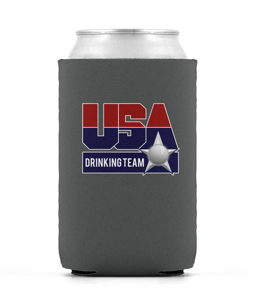 USA Drinking Team Koozie