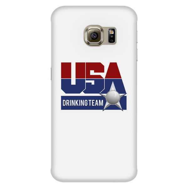 USA Drinking Team White Phone Case
