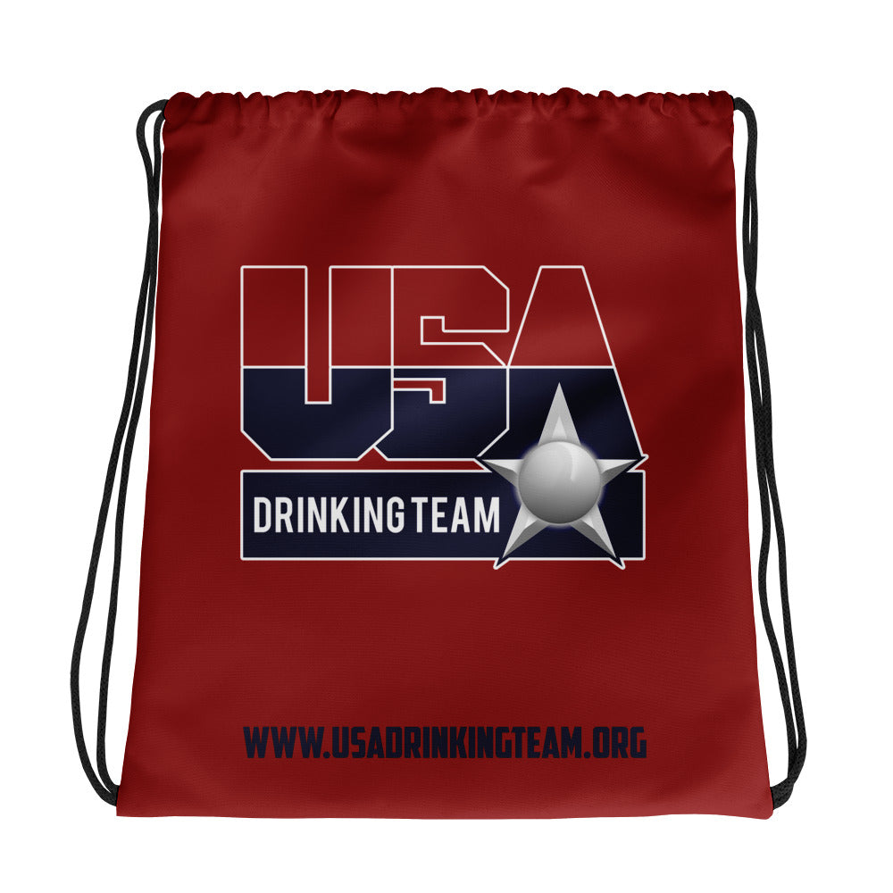 USA Drinking Team Bag Red