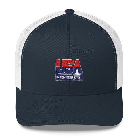 USA Drinking Team Trucker