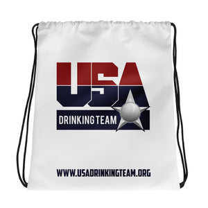 USA Drinking Team Bag White