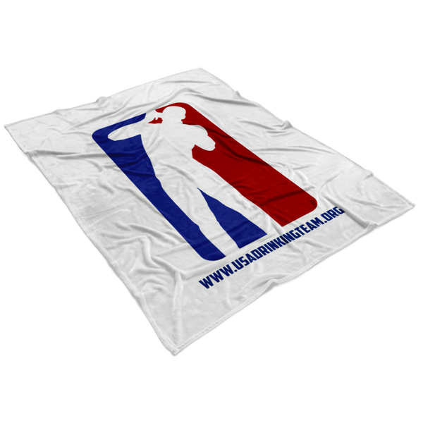 Champions League White  Blanket