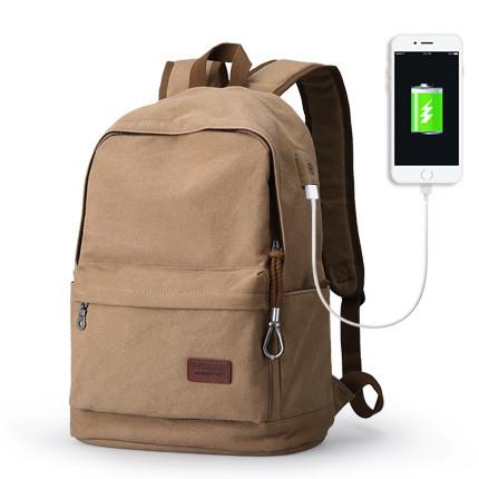 Image of Mens Backpack W/ Large Capacity And USB Charging
