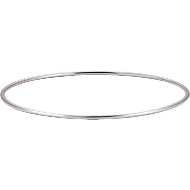 Sterling Silver 1.5 mm Bangle Bracelet
