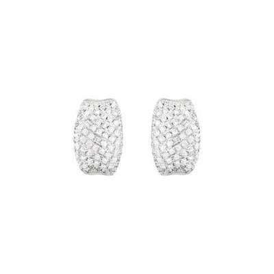 Pavé Hinged Earrings