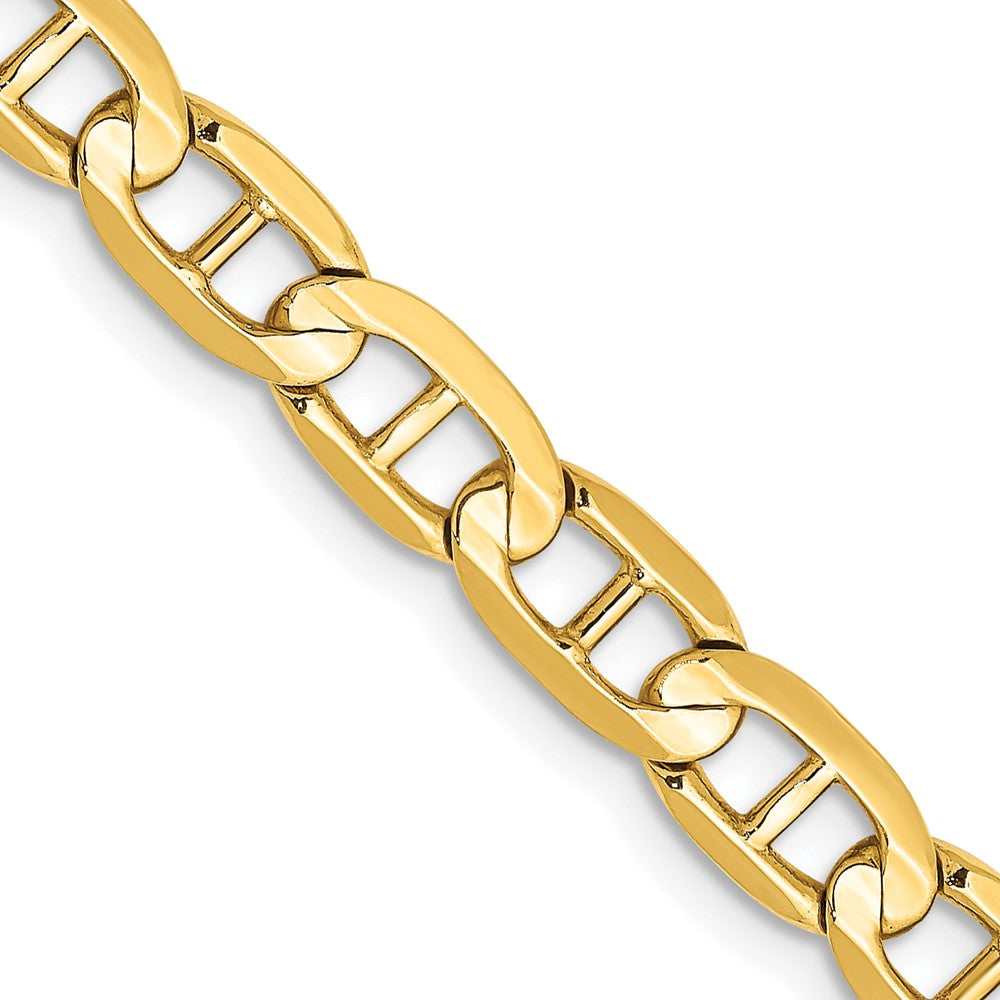 14k 5.25mm Concave Anchor Chain