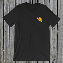 Load image into Gallery viewer, Embroidered Hat T-Shirt Black