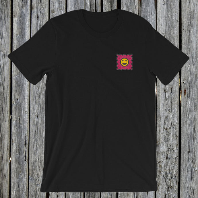 Embroidered LSD Black T-Shirt