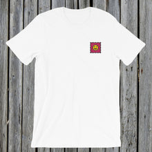Load image into Gallery viewer, Embroidered LSD tshirt white
