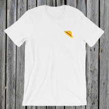 Load image into Gallery viewer, Embroidered Hat T-Shirt White
