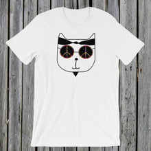 Load image into Gallery viewer, Hippie Cat T-Shirt
