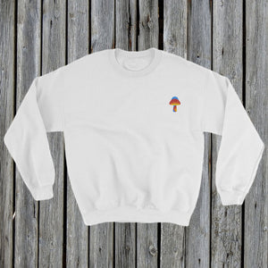 Embroidered Magic Mushroom Sweatshirt