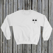 Load image into Gallery viewer, Embroidered RetroCat Sweatshirt