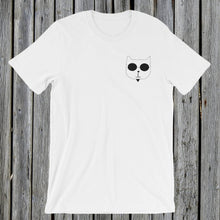 Load image into Gallery viewer, Embroidered RetroCat T-Shirt