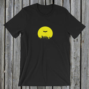 Batman Tshirt Tee Black RetroCat