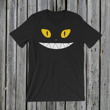 Load image into Gallery viewer, Yellow Eyes RetroCat T-Shirt
