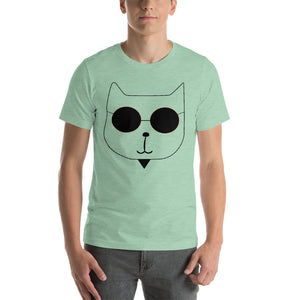 RetroCat T-Shirt light green