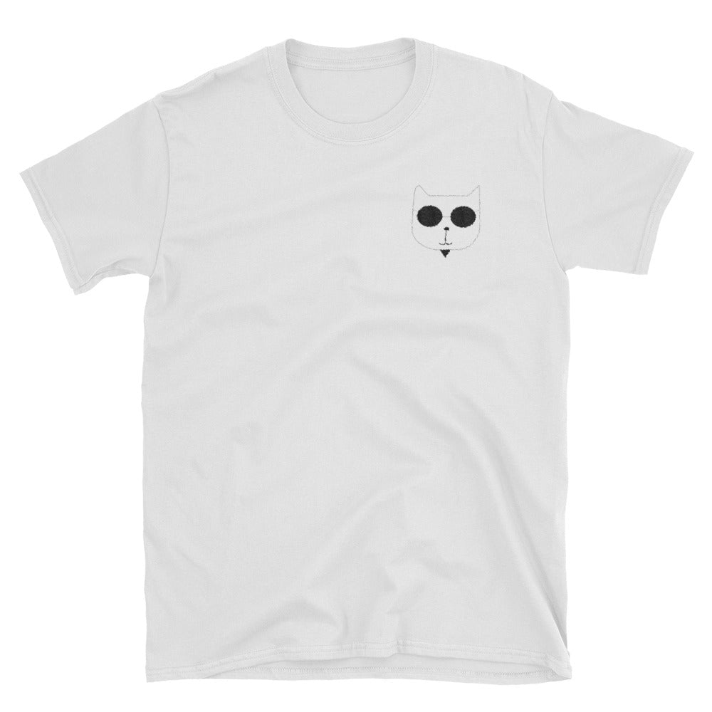 Embroidered RetroCat T-Shirt