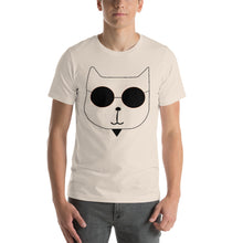 Load image into Gallery viewer, RetroCat T-Shirt soft cream