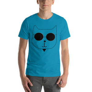 RetroCat T-Shirt aqua
