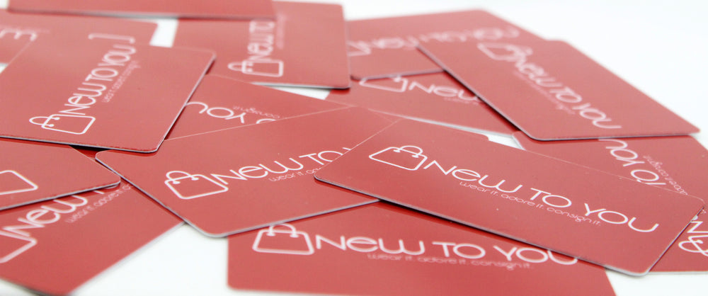Gift Cards to the best consignment shop in McMinnville Oregon are now available online at ShopNewtoYou.com!