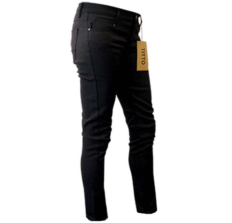 NWT! Titto Black Skinny Jeggings for sale at the best consignment clothing store in McMinnville Oregon - New to You!