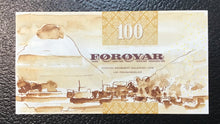 Load image into Gallery viewer, Faeroe Islands  P-25 (20)02  100 Kronur -Crisp Uncirculated