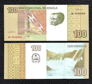 Angola P-153 Oct. 2012 100 Kwanzas - Crisp Uncirculated