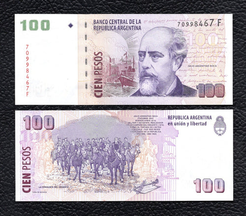 Argentina P-357  ND(2003) 100 Pesos Crisp Uncirculated