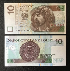 Poland P-183 2012 10 Zlotych - Crisp Uncirculated