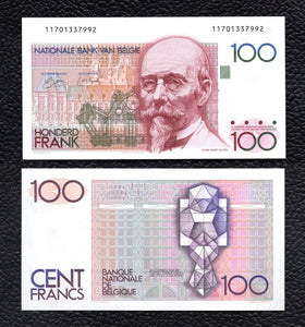 Belgium P-140  ND(1978-81)  100 Francs - Crisp Uncirculated