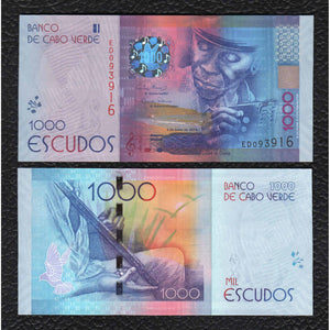 Cape Verde P-73  5.7.2014  1000 Escudos - Crisp Uncirculated