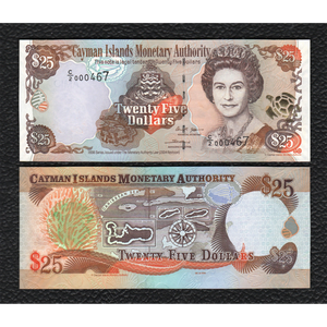 Cayman Islands P-36a 2006 25 Dollars - Crisp Uncirculated
