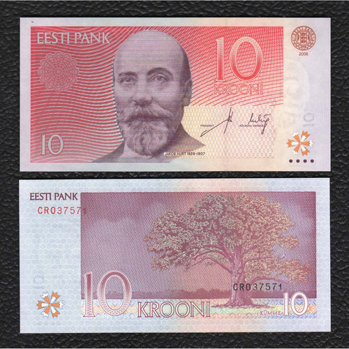 Estonia P-86a 2006 10 Krooni - Crisp Uncirculated