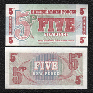 Great Britain P-M47  5  ND(1972) - Crisp Uncirculated