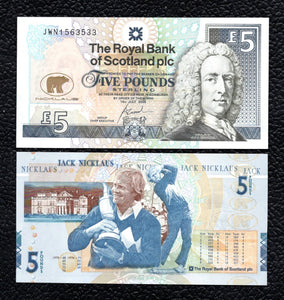 Scotland P-365  14.7 2005  5 Pounds - Crisp Uncirculated