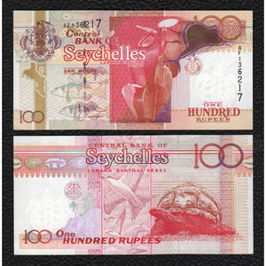 Seychelles P-40  ND(2001)  100 Rupees - Crisp Uncirculated