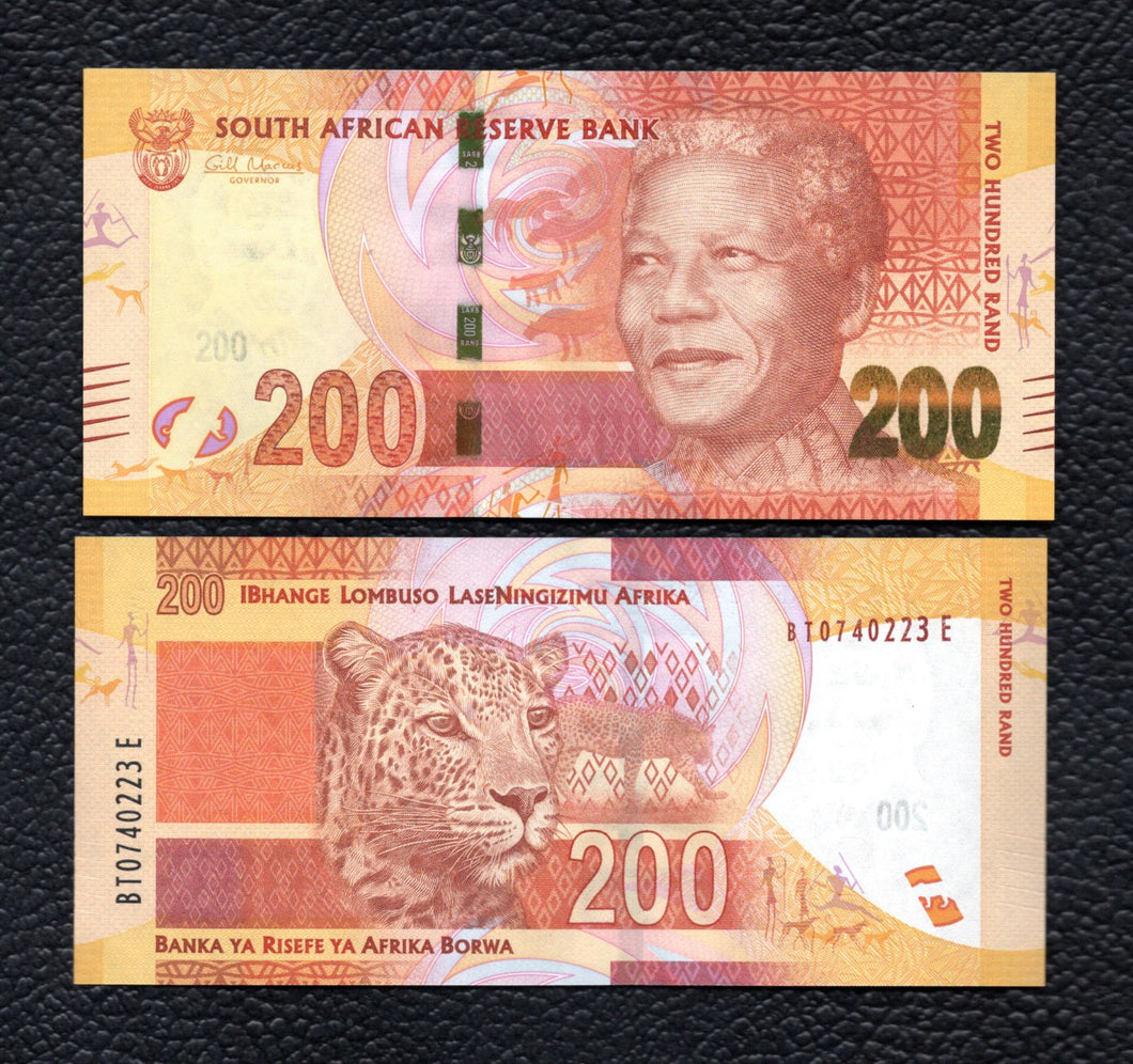 South Africa P-137  ND 200 Rand - Crisp Uncirculated